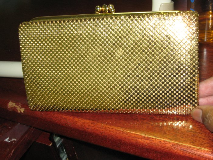 1950 Gold Wallet