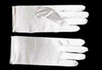 White Satin Gloves GL21995