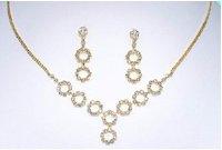 Gold Circular Set NE23800