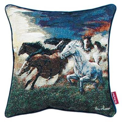 Horses - Running with the Wind Pillow