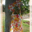 "Tiny Trends Boutique Nursing Cover with Matching Burp Cloth ""Hawaiian Delight"""