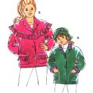 Kwik Sew 2410 Girl's Fleece Fringe Jacket & Hat Pattern XS-XL