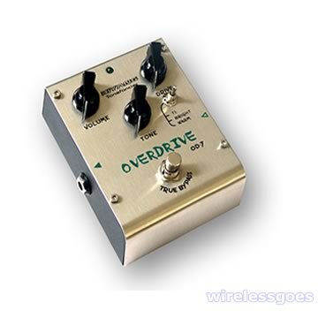 OD-7�Three modes tube tone overdrive effect pedal