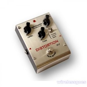 DS-7�Three modes distortion effect pedal