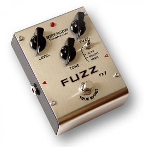 FZ-7�Three modes fuzz effect pedal