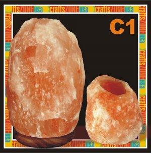 Himalayan Salt Table Lamp - Tealight C1