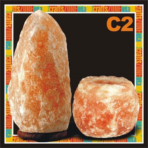Himalayan Salt Table Lamp - Tealight C2