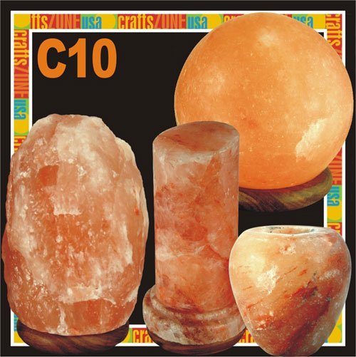 Himalayan Salt Table Lamp - Tealight - C10