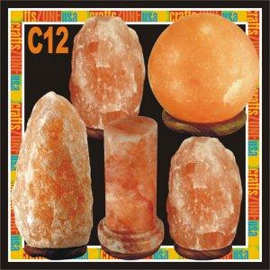 Himalayan Salt Table Lamps - C12
