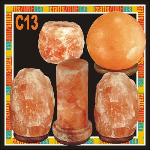 Himalayan Salt Table Lamp - Tealight - C13