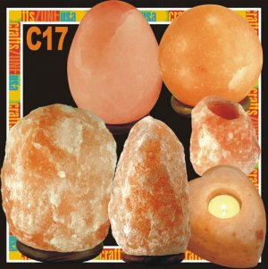 Himalayan Salt Table Lamp - Tealight - C17