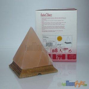 New Premium Quality Himalayan Rock Salt Lamps Pyramid Shape 4~6Lbs