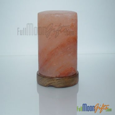New Premium Quality Himalayan Rock Salt Lamps Cylinder Shape 6~8Lbs