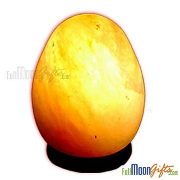 Himalayan Rock Salt Lamps Egg Shape 7~9Lbs