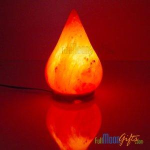 Himalayan Rock Salt Lamps DewDrop Shape 4~6Lbs
