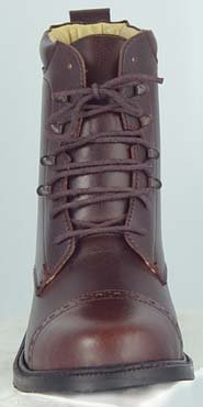 GL LADY LACED PADDOCK BOOTS English Riding Brown 9.5