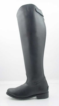 Men Dressage Boots Tall Horse back Riding Black Wide
