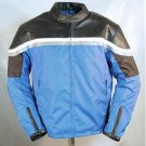 New MOTORCYCLE LEATHER TEXTILE SUMMER JACKET
