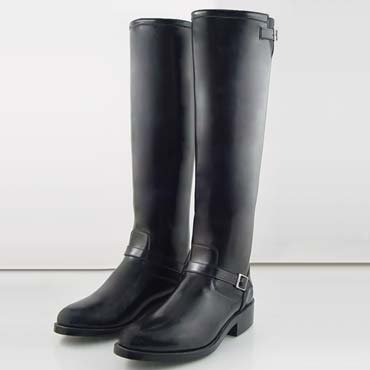RAVEN Women Motorcycle Engineer California Highway Police Patrol Tall Biker Boots Xwide XXwide