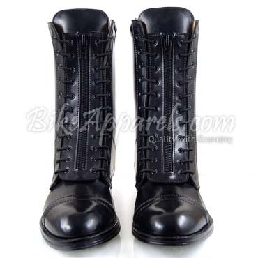 DRAGSTER Mens Biker City Mid Half Calf Stylish Leather Boots