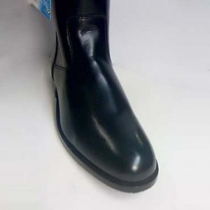 "ATLAS Womens Motorcycle Mid Half Calf 11"" High Tall Leather Boots"