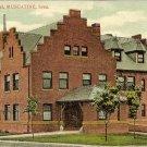 1910 ERA POSTCARD HERSEY HOSPITAL MUSCATINE, IA