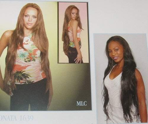 Goddess Hair Extensions, Waist Length! High quality!