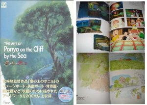 Ponyo on the Cliff By The Sea Art Of Book