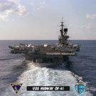 USS Midway CV-41 Fantail Approach (8x12) Photograph