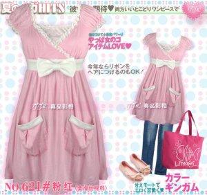 Dress-Lacework Lovely Knot -3086