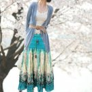 Patterned Long Skirt / Dress