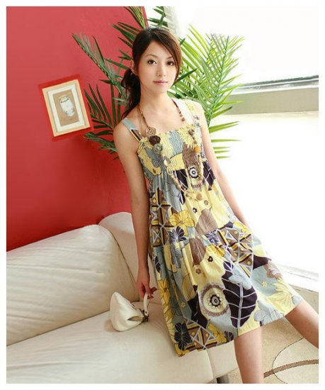 Sling Cotton one Piece Floral