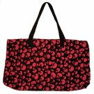 Red Skulls punk bag