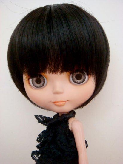 Black Bob Wig (A01T-Purple)