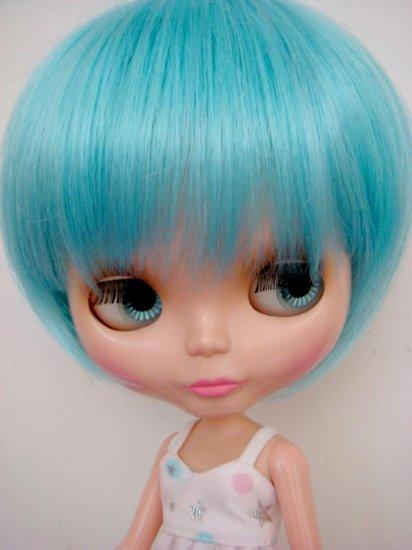 Mint Blue Bob Wig (A01T-Blue)