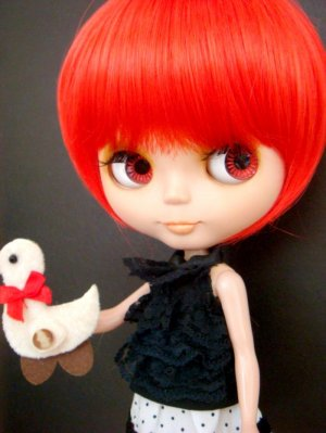 Red Bob Wig (A01T-Red)