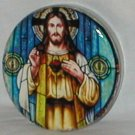 Beautiful Jesus Decoupage Paperweight