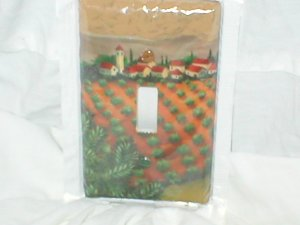Tuscan design light switch plate cover Single Size
