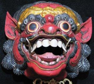 Balinese/Javanese Demon Mask