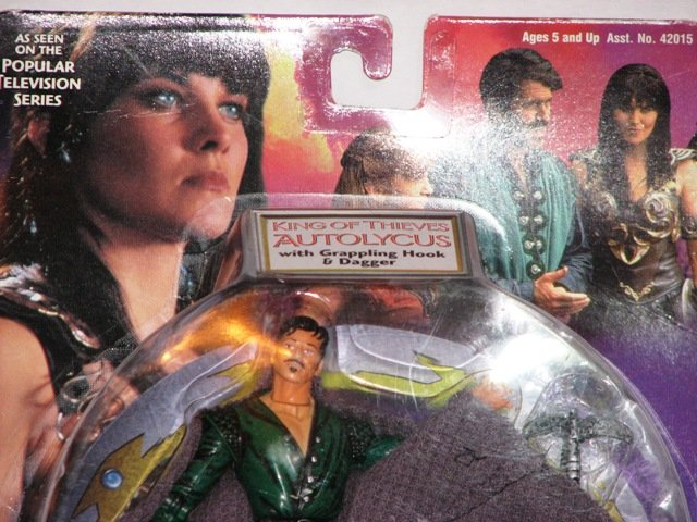 Xena Action Figure King Autolycus In Original Packing