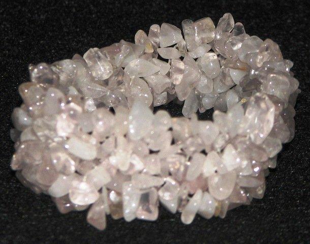 Stretch Crystal Chip Gemstone Bracelet