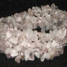 Stretch Crystal Chip Gemstone Bracelet