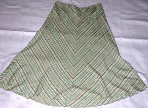 Yarn Dyed Linen-Blend Skirt (Size: 18/20)