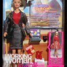 1999 Working Woman Talking Barbie Doll NIB