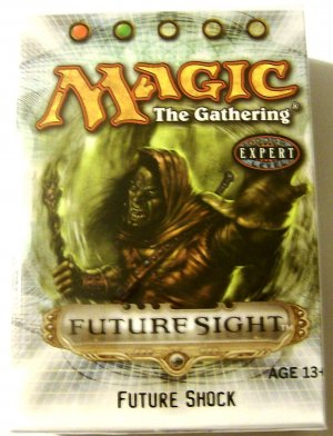 Magic The Gathering Future Shock red green Future Sight MTG Theme Deck