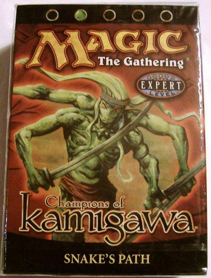 Magic the Gathering Snake's Path Champions of Kamigawa MTG green Theme Deck
