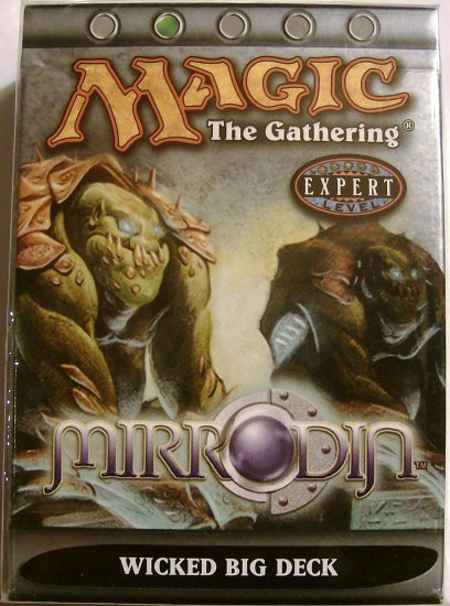 Magic The Gathering Mirrodin Wicked Big MTG green Theme Deck