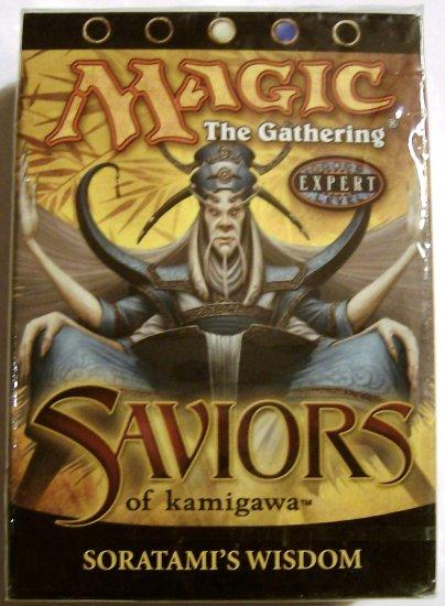 Magic The Gathering Soratami's Wisdom white and blue Saviors of Kamigawa MTG Theme Deck