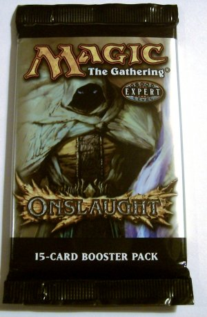 Magic The Gathering Onslaught Booster Pack MTG