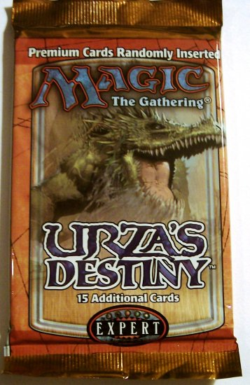 Magic The Gathering Urza's Destiny booster pack MTG